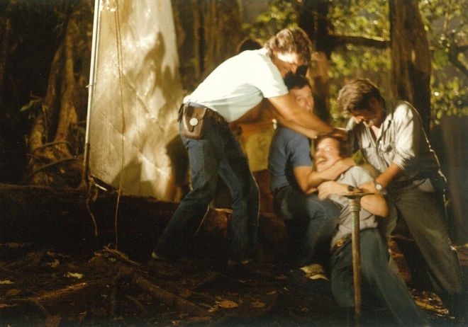 Beau Marx, Don MacAlpine, John McTiernan, beating up Joel Hynek