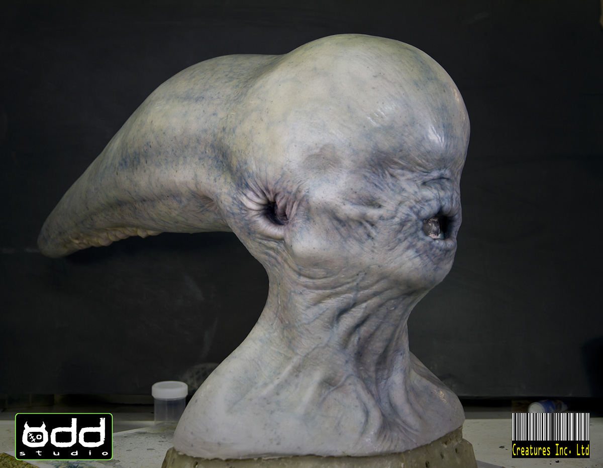 Up close with the practical creatures of 'Alien: Covenant ...