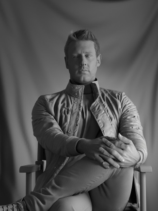 CG portrait of Neill Blomkamp by Ian Spriggs.